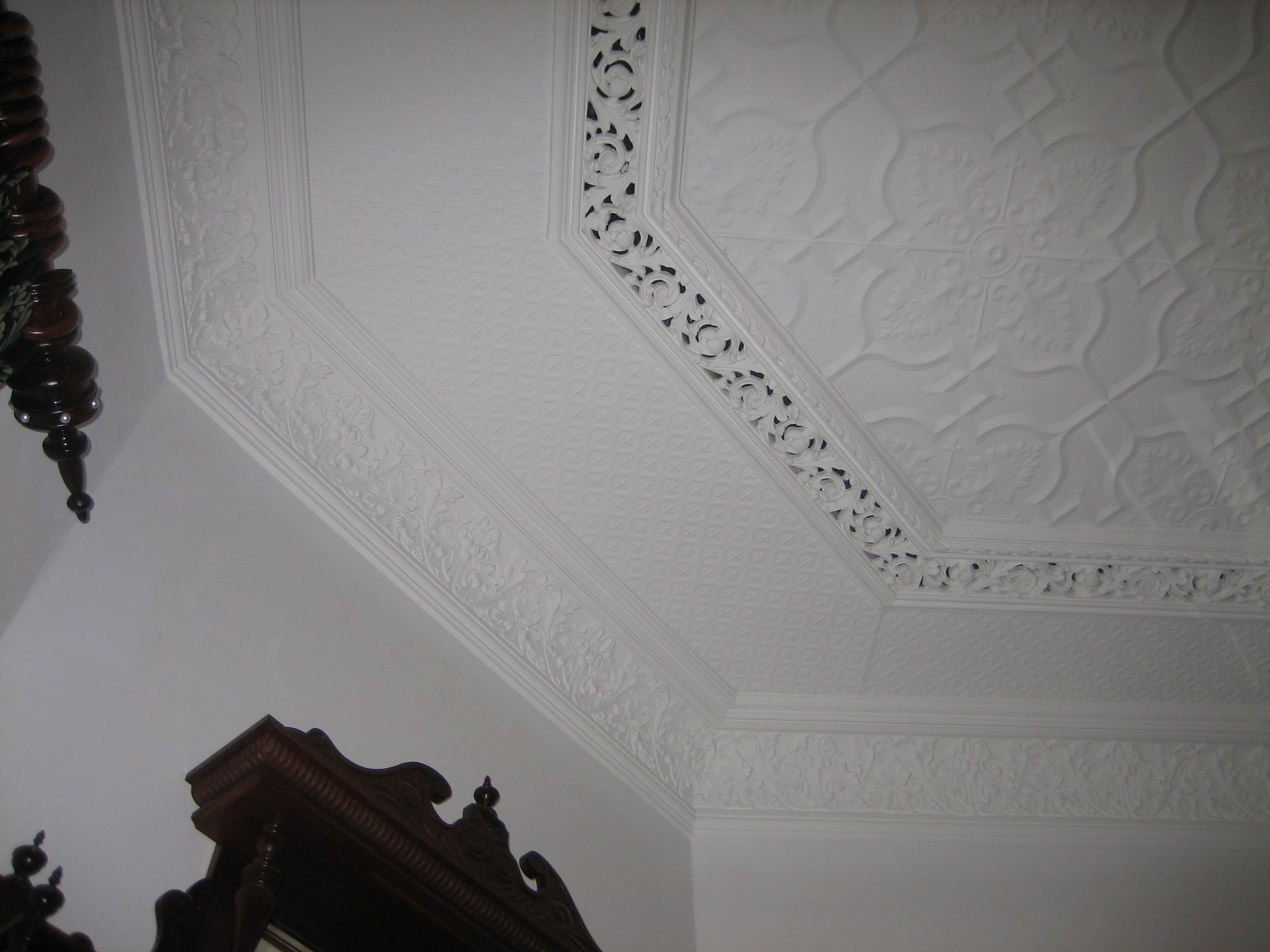 Newington Design Ceiling Painted