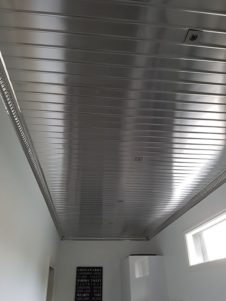 Ridge Panel Design Ceiling
