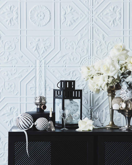 St George Design White Feature Wall