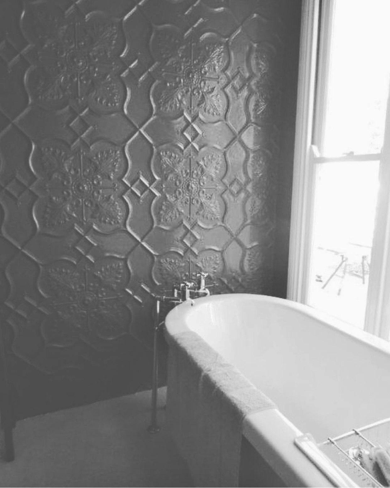 Newington Design Bathroom Feature Wall